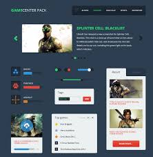 80 free flat ui kits psd for mobile apps websites