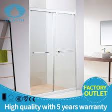 Bathroom Shower Enclosures Suppliers by Double Shower Doors Glass Images Glass Door Interior Doors