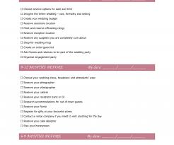 congenial free printable wedding checklist worksheets photos s