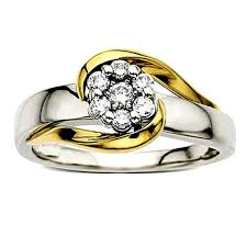 jewelry platinum rings images Diamond ring in yellow gold with platinum finish san38 gold jpg