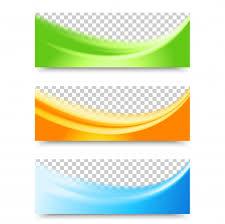 design header paper flyer template header design vector free download