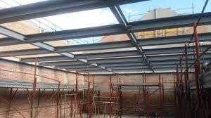tettoia in ferro strutture portanti i ostiglia mn i rossato e
