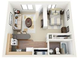 Cool Studio Apartments Download Studio House Plans Home Intercine
