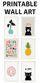 cheap printable wall art places to find art for kids room affordable art kids rooms and room