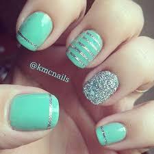 25 best mint nails ideas on pinterest tiffany nails mint green