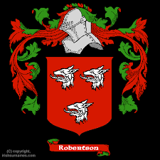robertson coat of arms family crest and robertson family history