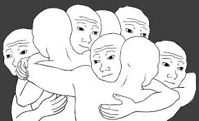 Group Hug Meme - tfw we all know that particular feel wojak feels guy know your