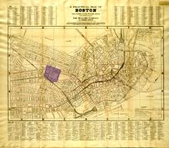 Copley Square Boston Map by Copley Square Once And Future City