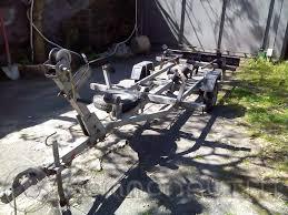 carrello porta auto usato vendesi vendo carrello porta barca