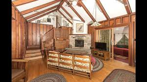 Cathedral Ceilings In Living Room by Living Room With Cathedral Ceiling And Fireplace Youtube