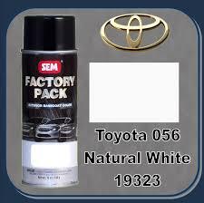 sem 19323 sem factory pack basecoat toyota paint code 056