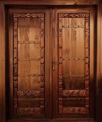Unique Front Doors Download Carved Solid Wood Doors Interior Antique Dark Brown