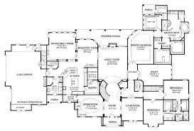 4 bedroom one story house plans 6 bedroom one story house plans nrtradiant