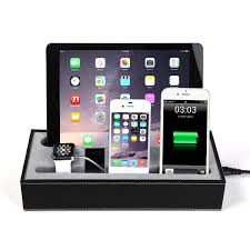 charging station organizer hapurs apple watch charging stand cradle holder u0026 iphone ipad
