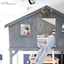 Bed Fort Boys Loft Fort Bed Diy Loft Bed Perfectly Imperfect Blog