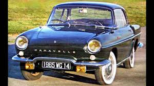 renault cars 1965 renault caravelle 1100 s coupe u00271965 u201368 youtube