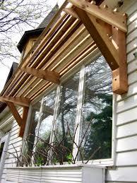 Patio Awnings Diy Apartments Marvellous Pergola Wood Plus Retractable Deck Patio