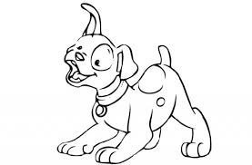 tag for cartoon puppies to color dog cartoon and printable