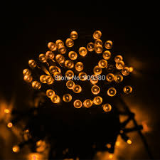 warm white solar fairy lights waterproof 55ft 100led 3modes green solar fairy string lights