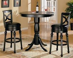 Black Bistro Table And Chairs Chic Round Bistro Table Set Round Pub Table And Chair Sets Round