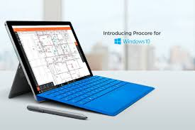 procore for windows 10 helps construction crews manage