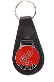 classic honda logo honda motorcycle classic red badge keyring classic car keychains