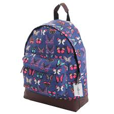 mens womens boys girls backpack rucksack retro a4 college