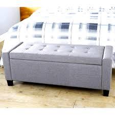 Padded Ottoman Overwhelming Upholstered Tufted Storage Bench Ideas Ed Tufted