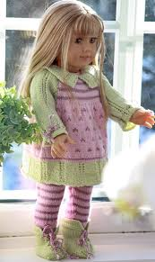 191 best patterns to knit american doll clothes images on