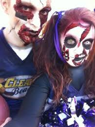Halloween Costume Football Player Zombie Cheerleader Football Player Couples Costumes Costume