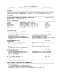 Template Student Resume Sample Student Resume 7 Documents In Pdf Word