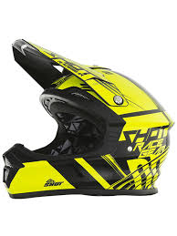 yellow motocross helmet shot neon yellow 2017 furious claw kids mx helmet ebay