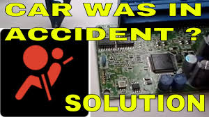 how to reset repair clear crash data from kia airbag module