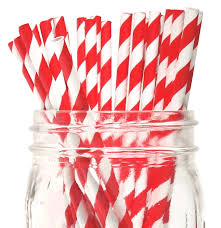 paper straws paper straws striped 25pcs just artifacts