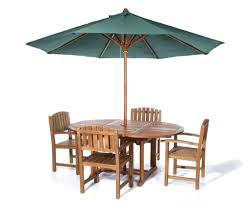 Patio Furniture Set With Umbrella - outdoor u0026 garden amazing oval folding patio table and chairs set