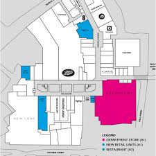 Department Store Floor Plan Development Plans Mander Shopping Centre Wolverhampton