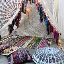 Tied Rag Rug Buy Cheap Indian Rug Woven Area Rag Rugs