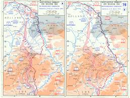 Normandy Invasion Map Map Depicting The Allied Advance To The Rhine River In West
