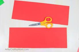 Easy Paper Craft For Kids - accordion fold diwali paper diya craft artsy craftsy mom