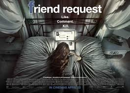 Text Messages Show Horror Inside - it s all facebook horror in friend request review addicted to