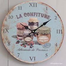 horloge murale cuisine horloge cuisine vintage conceptions de maison blanzza com