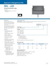 runway end identifier lights rgl4 l 804 l runway guard light led