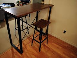 industrial style pub table the best high bar for stools industrial pub table image of height