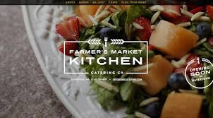 creative food related web designs with fullscreen background u2013 neo