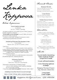 Copywriting Resume Cv Koppova Lenka Bookshop 2014