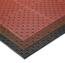 Anti Fatigue Kitchen Floor Mats by Multi Mat Ii Reversible Drainage Anti Fatigue Floor Mat 3 8