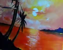 dessin et peinture vidéo 1531 une leçon de peinture acrylique