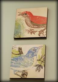 fabric wall art diy my retro kitchen