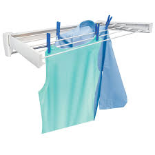 wall mounted drying rack for laundry leifheit telefix 70 wall mount retractable clothes dryer hayneedle