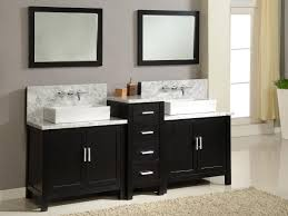 Double Sink Vanities For Small Bathrooms by Rectangular Vessel Sink Soft Rectangular Ceramic Vessel Sink In